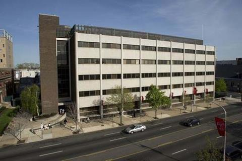 The School of Pharmacy at Temple University, Philadelphia, US.