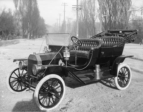 1910 Model T Ford, Salt Lake City, Utah