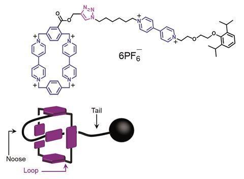Molecular lasso