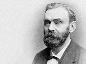 Portrait of Alfred Nobel (1833 – 1896)