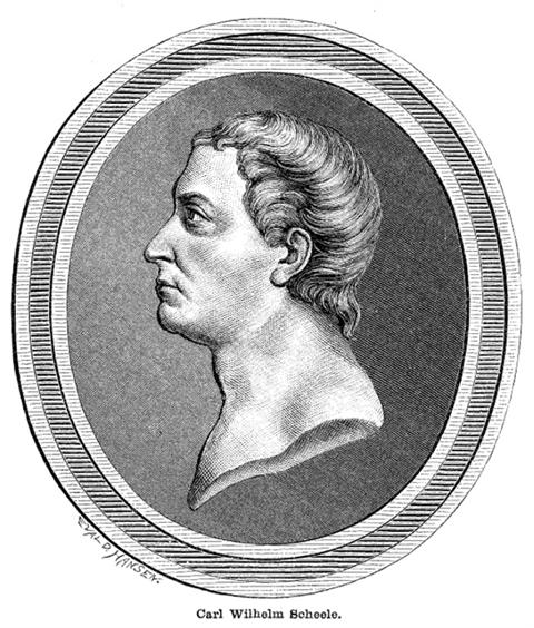 Portrait of Carl Wilhelm Scheele (1742 – 1786)