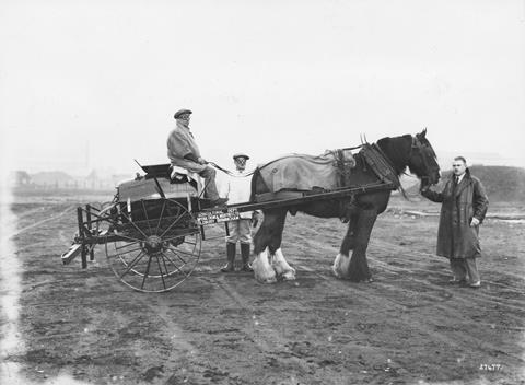 ICI horse-drawn vehicle, early 20th century