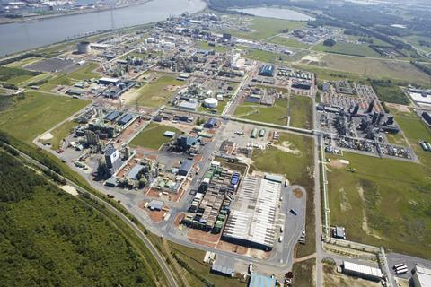 An image showing the Borealis low density polyethylene plant in Antwerp