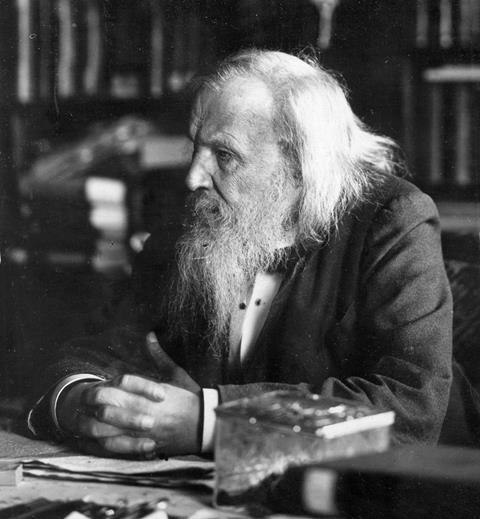 Dmitri Mendeleev  (1834 – 1907)