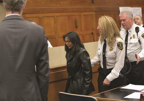 Annie Dookhan in court