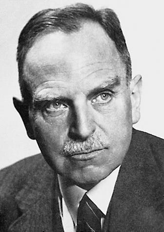 A portrait of Otto Hahn (1879 – 1968)