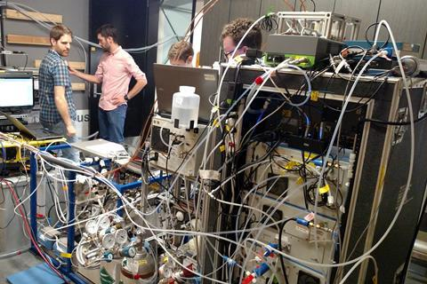 Time-Resolved Measurements of Indoor Chemical Emissions, Deposition, and Reactions in a University Art Museum