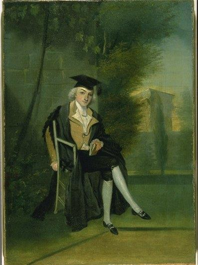 James Smithson at Oxford c. 1786
