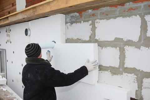 styrofoam insulation board