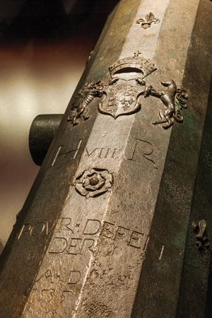 Tudor cannon