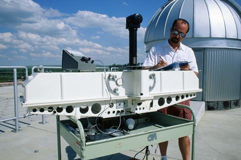 Dobson spectrophotometer