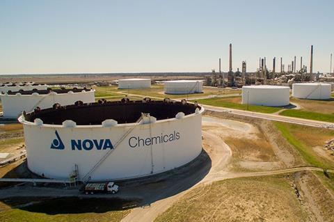 NOVA Chemicals Corunna Site tank farm