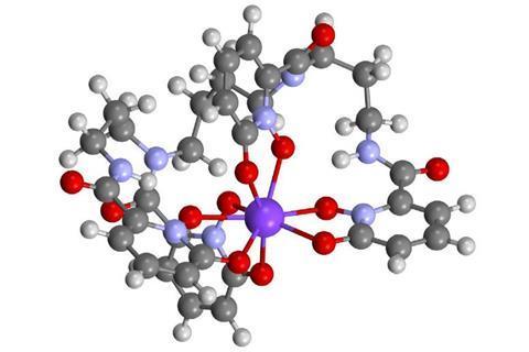 Berkelium stabilised +4 oxidation state structure - Fig1b