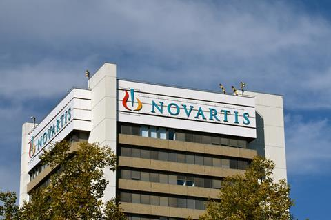 Novartis headquarters in Basel, Switzerland