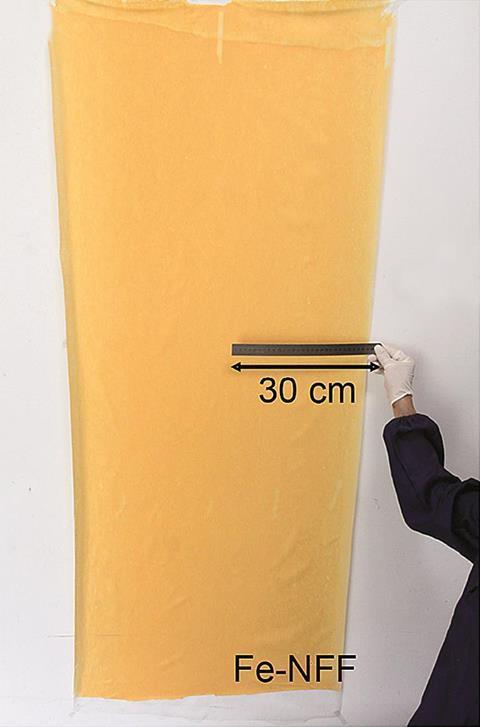 carbon nanofibre film