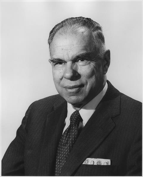 Portrait of Glenn T. Seaborg, 1964
