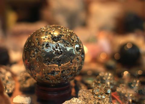 Pyrite bravoite marcasite souvenir