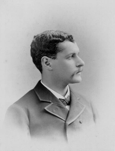 Arthur Michael around 1886