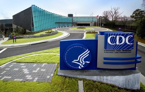 An image showing a CDC sign