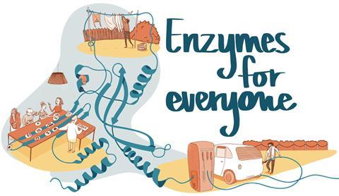 Enzymes for everyone illustration