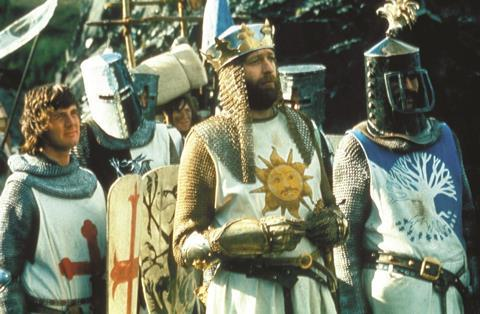 Film still from Monty Python and The Holy Grail
