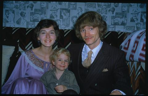 Chad Green with parents Diane and Gerald on 21/02/1979