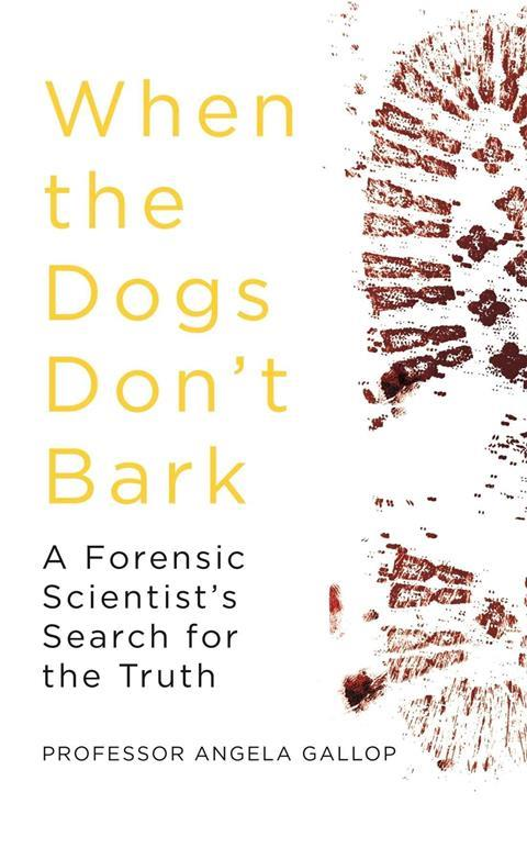 An image showing the cover of When dogs don't bark