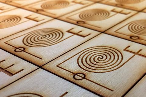 An image showing wood microfluidics