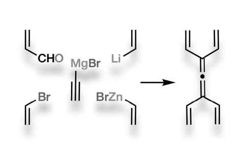 An image showing the formation of tetravinylallene
