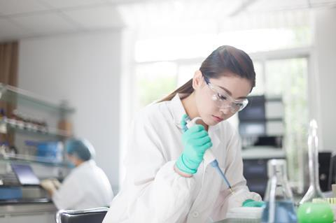 Scientific research laboratory