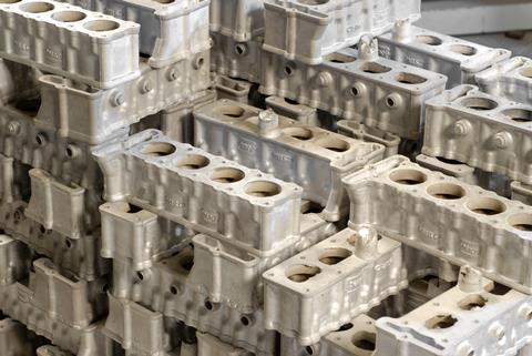 Magnesium alloy car engine blocks