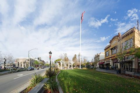 Downtown Livermore, California