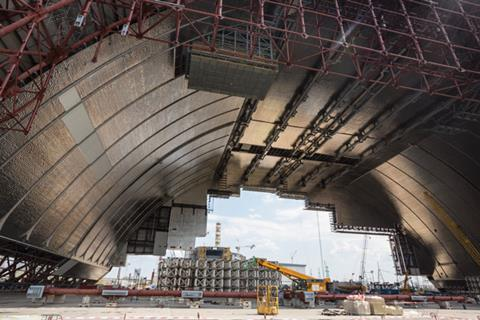 Chernobyl New Safe Confinement arch
