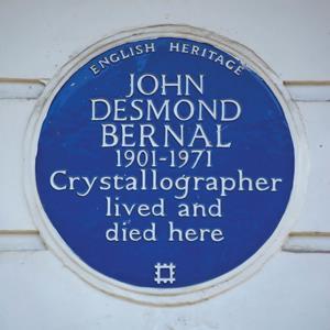 Blue plaque for John Bernal