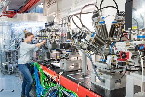 The FXE instrument at the European XFEL