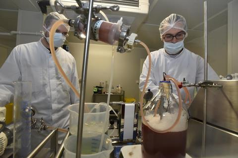 Lugworm haemoglobin extraction and purification