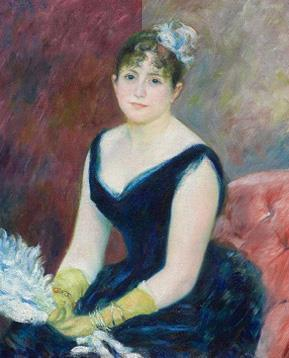 Painting of a women by Renoir
