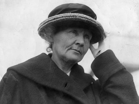 Marie Curie portrait