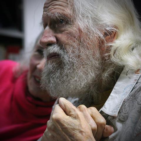 Alexander 'Sacha' Shulgin (1925-2014) at December 2011 book signing in Oakland, CA