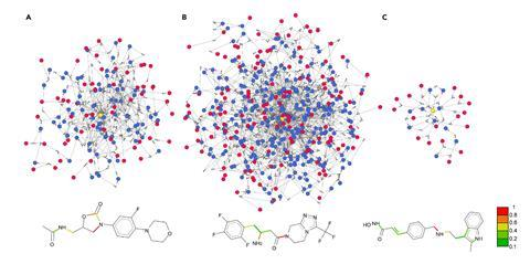 A network Representation of Patented Syntheses and the ''Essential'' Bonds Underlying the Patented Approaches