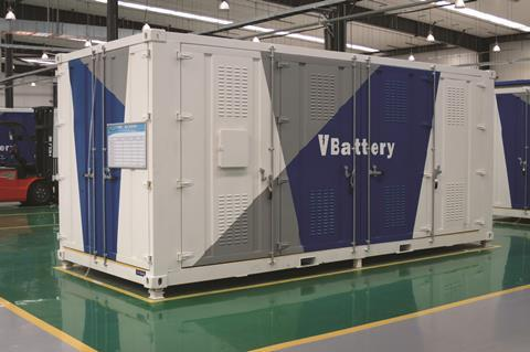 Vanadium Flow Battery