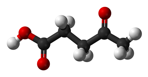 Levulinic acid structure