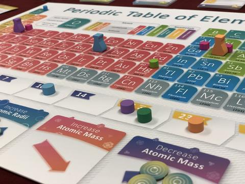 An image showing a periodic table game