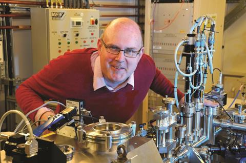 Fred Mosselmans principle scientist at Diamond Light Source