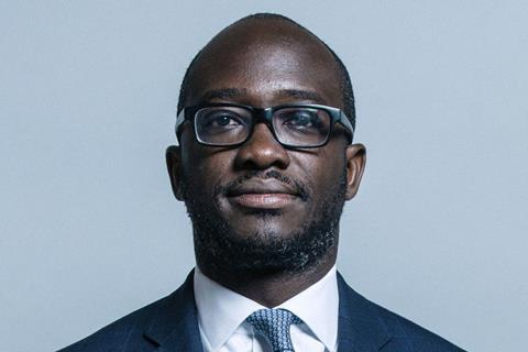 Official portrait of Mr Sam Gyimah