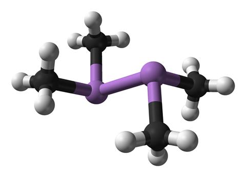 Cacodyl structure