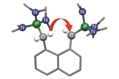 Phosphorus bisylide - a new class of superbase - Index & Main