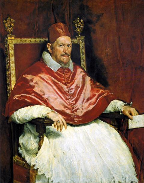 Pope Innocent X (1574 – 1655)