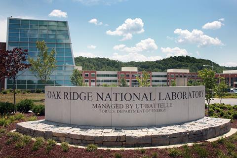 Oak Ridge Laboratory