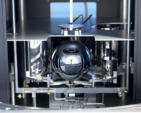Avogadro Project silicon sphere